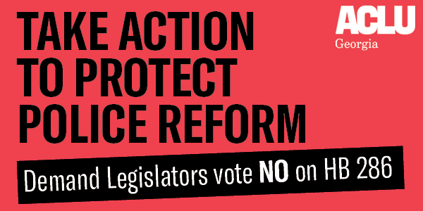 Take Action to Protect Police Reform