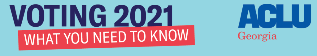 Voting 2021, what you need to know.