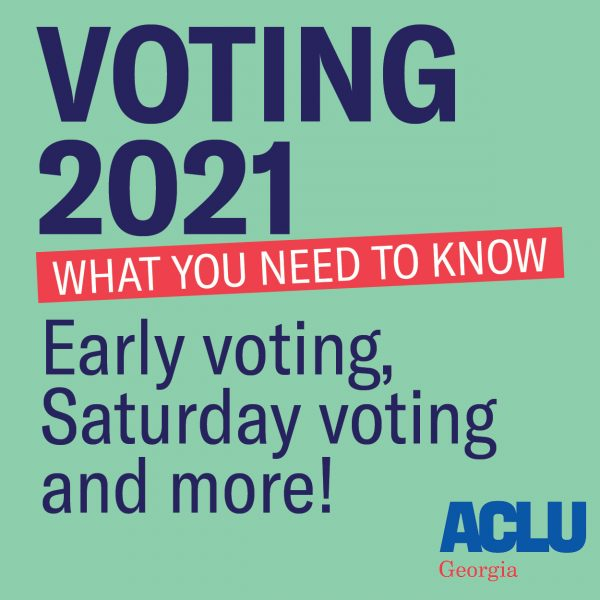 Voting 2021, what you need to know. Early voting, Saturday voting and more!