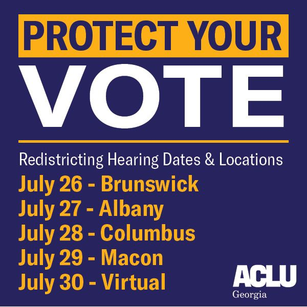 protect your vote july 26-30
